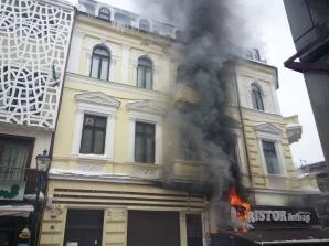 Dristor Kebap a luat foc FOTO: Maria Alexa Popescu/Metropotam