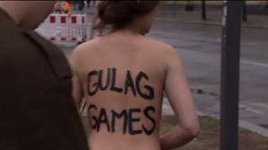 Protest FEMEN la Soci 2014