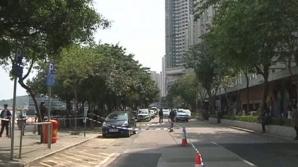 Un editor din Hong Kong a fost înjunghiat în plină stradă