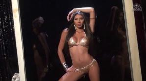 Finalista la Miss Venezuela, metodă extremă de slăbit: şi-a cusut un petic de plastic pe limbă