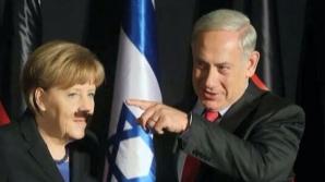 Ipostaza în care Angela Merkel face înconjurul lumii