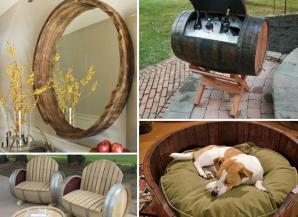 Cum să transformi un butoi în mobilier pentru decoraţiuni