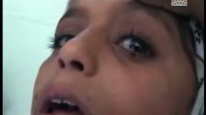 Fetiţa care plânge cu lacrimi de piatră