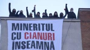 Protest inedit la Deva