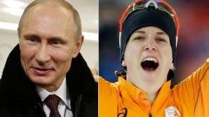 SOCHI 2014. PUTIN a îmbrăţişat o sportivă olandeză declarată LESBIANĂ