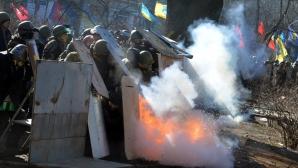 Violenţe la Kiev