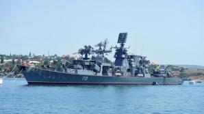 Rusia a mobilizat nave cu trupe speciale în largul Peninsulei Crimeea
