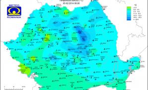 Temperaturi extrem de scăzute în această dimineaţă în judeţul Harghita