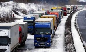 Zăpadă abundentă în Sud-Estul Europei