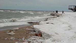 Opt migranţi somalezi şi sirieni, prinși de poliţiştii de frontieră pe plaja din Vama Veche