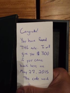 Bilet misterios descoperit într-o carte
