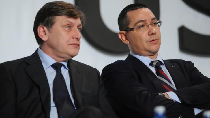 NEGOCIERILE AU EŞUAT ÎN USL. Ponta: Nu am luat nicio decizie. Eu am propus formulă cu 4 vicepremieri