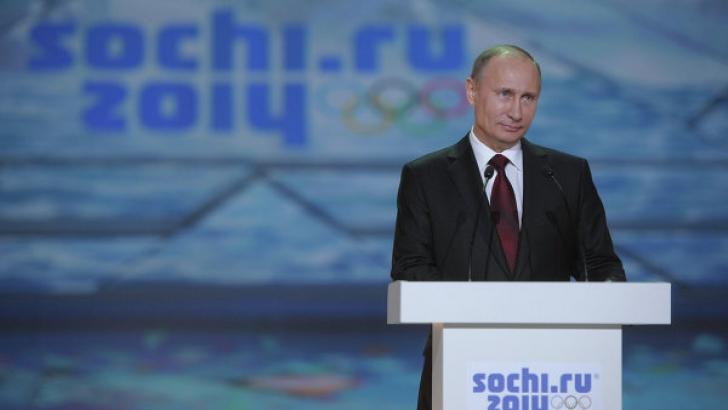 Vladimir Putin, preşedintele Rusiei