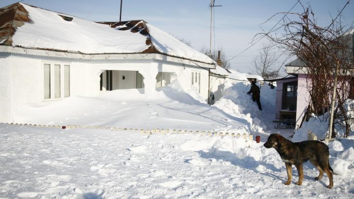 CEA MAI SCĂZUTĂ TEMPERATURĂ din țară în această iarnă: minus 23,6 grade Celsius / Foto: Arhiva MEDIAFAX