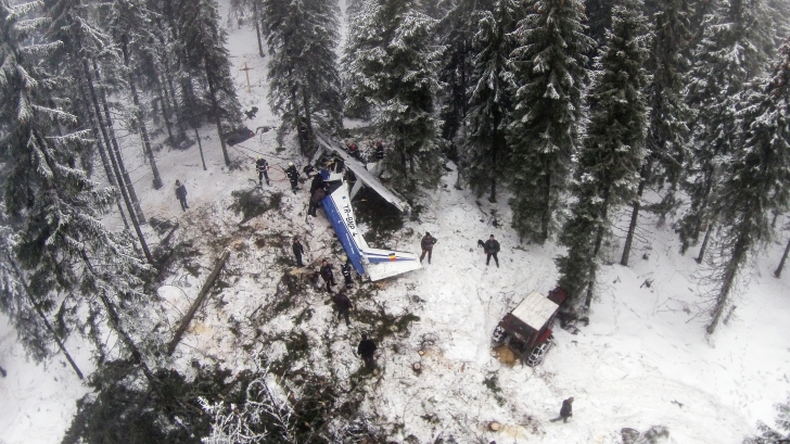 Accidentul din Apuse. Pilot: Am vrut să intervenim cu un elicopter, însă nu avem o procedură clară/ Foto: MEDIAFAX
