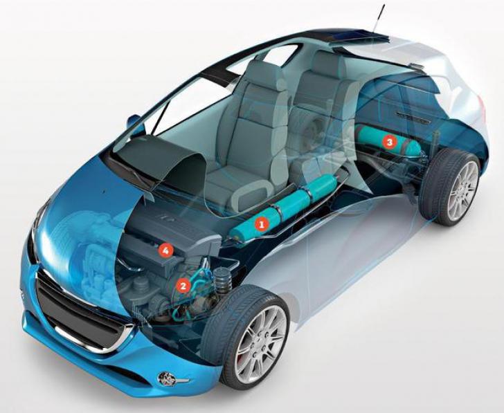 Maşina care merge cu aer va intra curând în producţia de serie