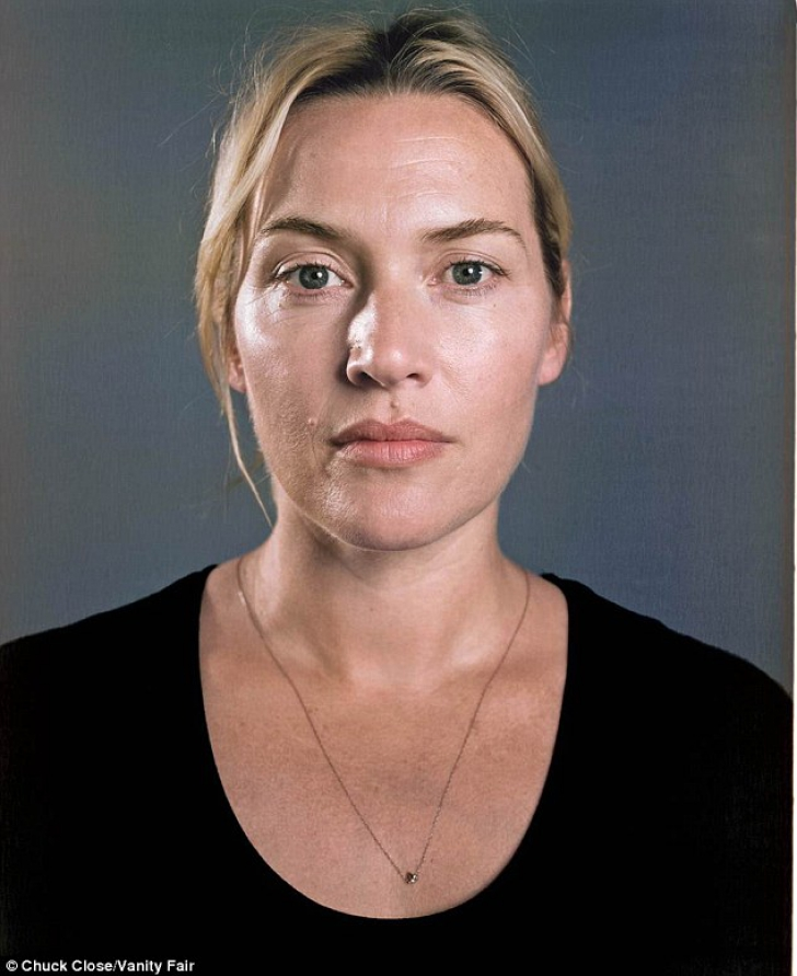 Kate Winslet, fără machiaj şi fără Photoshop