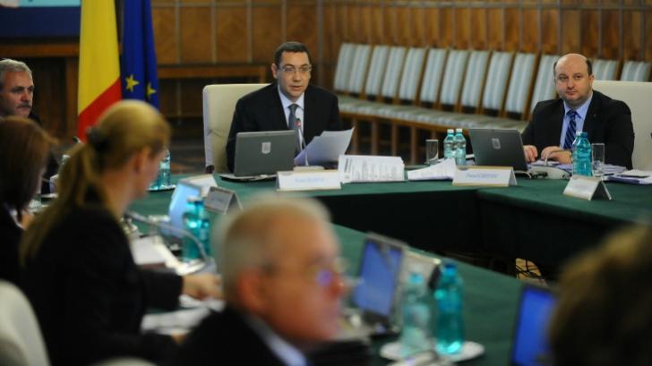 Guvernul ridică starea de alertă din judeţe, Ponta avertizează însă de posibile inundaţii