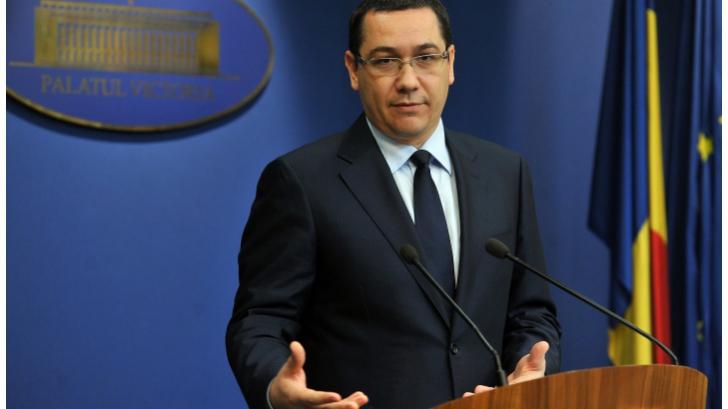 Ponta: În opinia FMI, sprijinirea persoanelor cu credite va creşte creditarea şi consumul