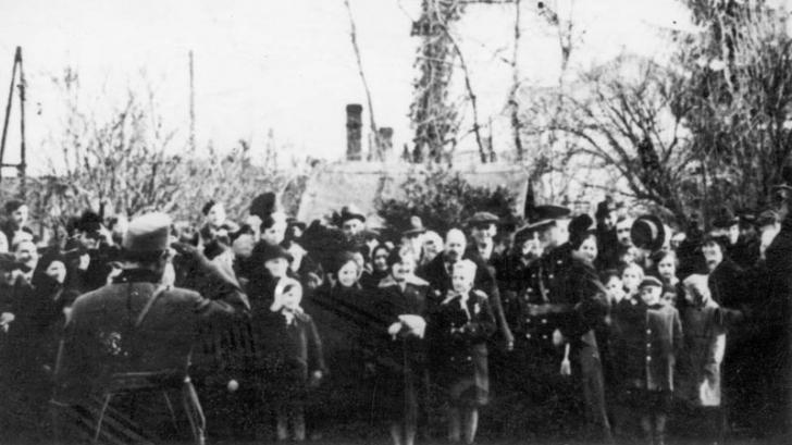 Evreii din Gheorgheni ucişi în lagărele naziste, comemoraţi în prezenţa lui Kelemen Hunor