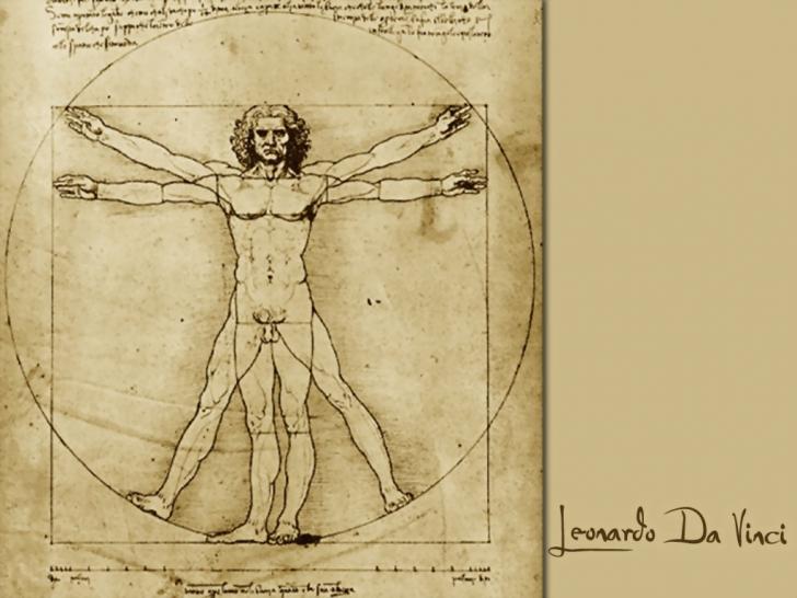 Omul vitruvian al lui Leonardo da Vinci, IMPERFECT. Suferea de o afecţiune gravă