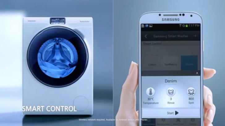 GADGETUL ZILEI. Maşina de spălat pe care o poţi controla prin smartphone