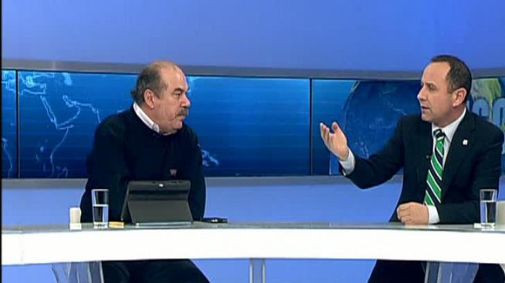 Mihăiţă Calimente şi Aurelian Pavelescu s-au certat în direct la Realitatea TV