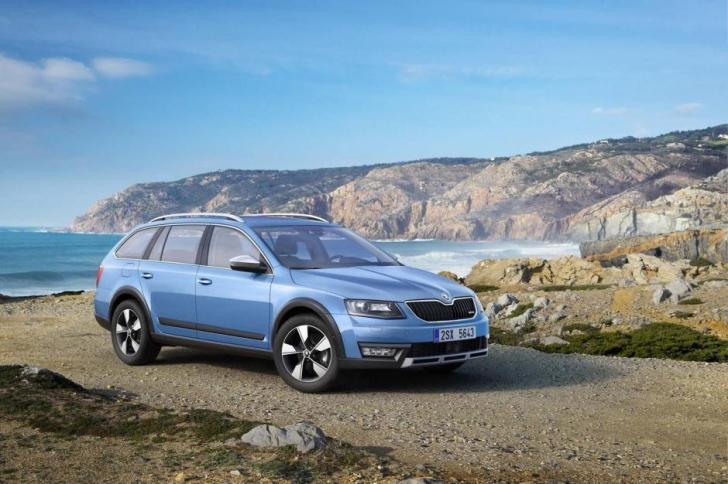 Skoda merge la Geneva cu un nou model Skoda Octavia Scout