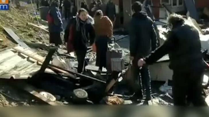 Tragedie într-o tabără de romi
