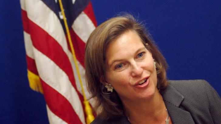 VICTORIA NULAND. Asistentul Secretarului de Stat american, Victoria Nuland: F... U.E.