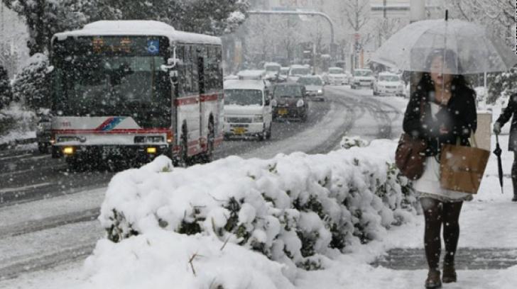 IARNĂ GREA în Japonia: 11 morţi, mii de răniţi / Foto: cnn.com