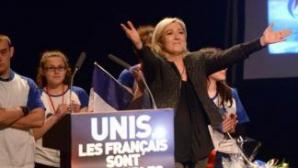 <p>Frontul Național, pe primul loc la alegerile europarlamentare din Franţa</p>