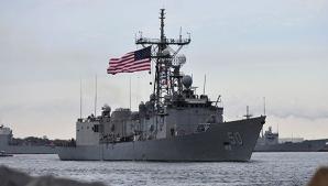 O navă americană de război ar putea ajunge în următoarele zile în Marea Neagră