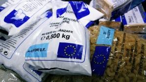 Depozitul Primăriei Vaslui unde sunt ţinute ajutoare alimentare de la UE, spart de hoţi