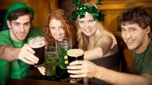 Petrecere cu bere irlandeză de Ziua Sfântului Patrick