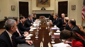 Barack Obama a participat la întâlnire lui Joe Biden cu Iurie Leancă
