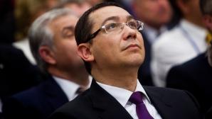 Ponta: Susţin în continuare modificarea Constituţiei, ca decizie politică mergem mai departe / Foto: MEDIAFAX
