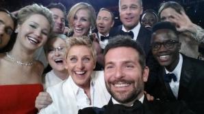 OSCAR 2014.Cea mai tare imagine de la Oscar! Cei mai mari actori din lume, într-o fotografie selfie!
