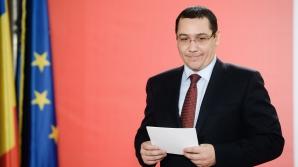 Ponta, discuţii cu miniştrii la Guvern, pe Legea certificatelor verzi / Foto: MEDIAFAX