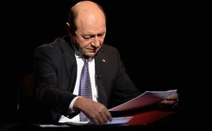Traian Băsescu, la reuniunea Consiliului European pe tema situaţiei din Ucraina / Foto: MEDIAFAX
