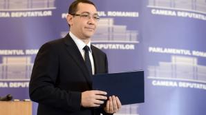 Ponta:Sindicatele să protesteze la Cotroceni pentru legea certificatelor verzi; merg cu ele dacă vor
