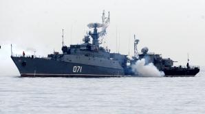 Navele ruseşti, în golful Sevastopol