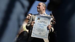 PDL București, marș împotriva Guvernului: 'PONTA, DOCTOR ÎN HOŢIE' / Foto: MEDIAFAX