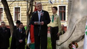 Tokes, de Ziua Maghiarilor: Nu ne vom lăsa jigniţi şi ameninţaţi, a venit timpul să vorbim / Foto: MEDIAFAX