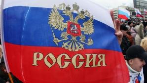 Baza ucraineană de la Feodosia, în Crimeea, luată cu asalt de forţe ruse / Foto: MEDIAFAX