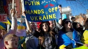 Uniunea Europeană consideră 'ILEGAL' referendumul din Crimeea şi ameninţă cu SANCŢIUNI / Foto: MEDIAFAX