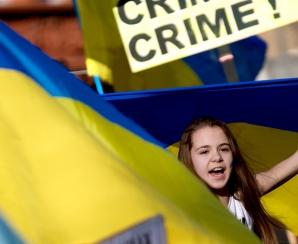 ROMÂNIA consideră REFERENDUMUL DIN CRIMEEA ILEGAL. BĂSESCU: 'Nu vom recunoaşte rezultatele!' / Foto: MEDIAFAX