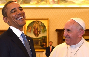 Barack Obama s-a întâlnit cu Papa Francisc, la Vatican