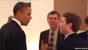 Fondatorul Facebook l-a sunat pe Obama pentru a se plânge de spionajul online