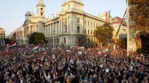 Marş uriaş pro-Viktor Orban înaintea alegerilor parlamentare din Ungaria